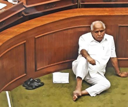 पार्टी के दिग्गज नेता येदियुरप्पा को मनाने में जुटी भाजपा
