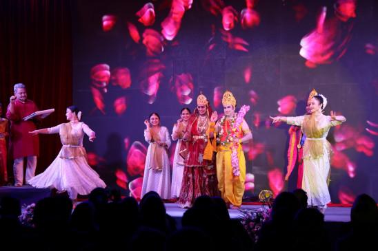 Dussehra fair organized in China, Ramlila is a special attraction | बीजिंग में हुआ भव्य दशहरा मेले का आयोजन, रामलीला रही विशेष आकर्षण – Bhaskar Hindi