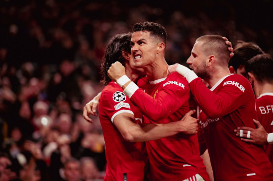 Champions League: Ronaldo saves Manchester United from defeat; Big win for Chelsea, Bayern