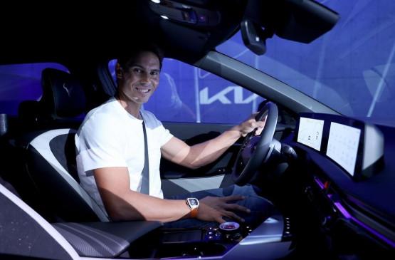 Nadal will use EV6 crossover, Kia launches model