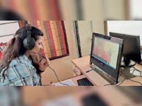 हिंदी यूनिवर्सिटी में दूसरे दिन भी आई  प्रवेश परीक्षा देने में दिक्कत