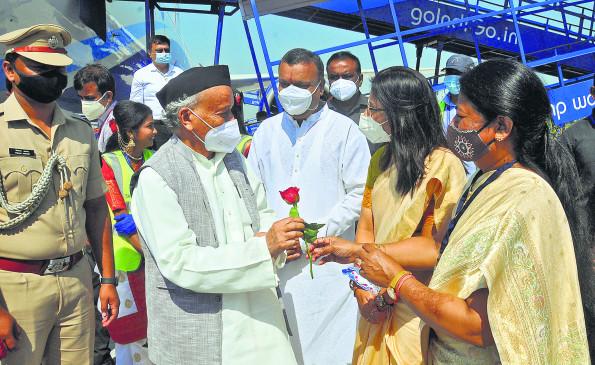 दो दिवसीय दौरे पर नागपुर पहुंचे राज्यपाल