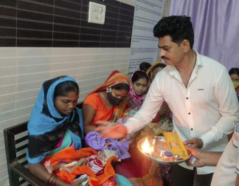 नवरात्र पर गूंजीकिलकारियां, 6 दिन में 51 कन्याओं ने लिया जन्म